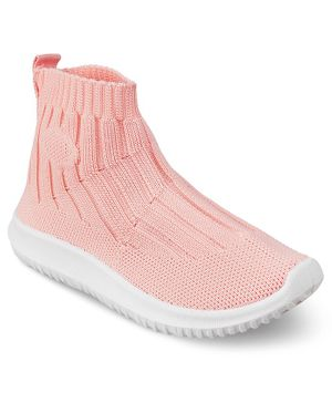 Kittens Shoes Back Elastic Shoes - Pink