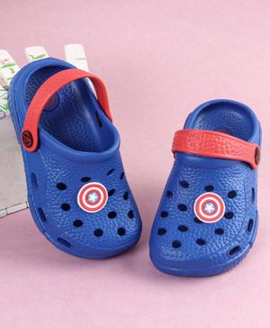 Marvel Captain America Clogs - Blue