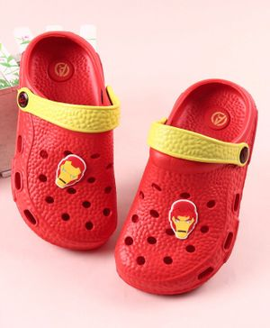 Marvel Iron Man Clogs - Red