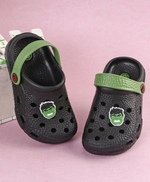 Marvel Hulk Clogs - Black