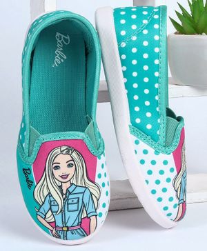 Barbie Casual Shoes With Free Doll (Assorted Doll Design) - Green