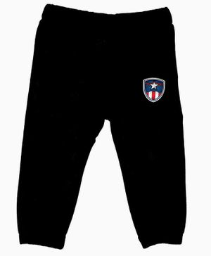 Marvel By Crossroads Avengers Patch Full Length Pants - Black