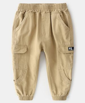 Pre Order - Awabox Solid Full Length Pants - Beige