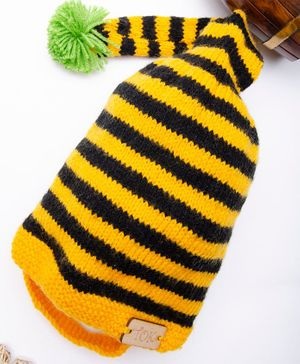 The Original Knit Striped Cap - Yellow