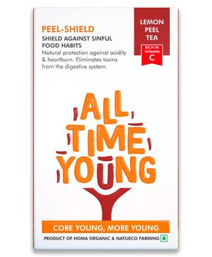 All Time Young Homa Organic Peel Shield Lemon Peel Tea - 100 gm