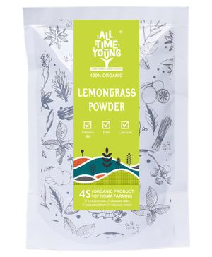 All Time Young Homa Organic Lemongrass Tea Powder - 50 gm