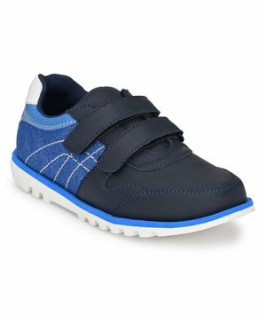 Tuskey Double Velcro Closure Shoes - Blue