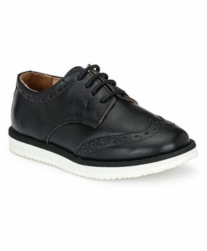 Tuskey Lace Up Casual Shoes - Black