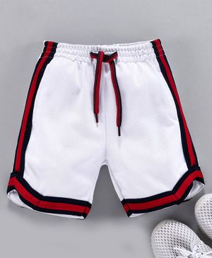 Little Kangaroos Knee Length Shorts - White