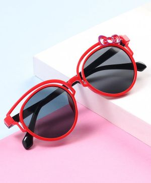 Babyhug UV Protection Sunglass - Red Black