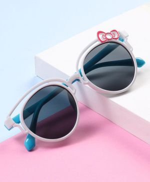 Babyhug UV Protection Sunglass - Blue White