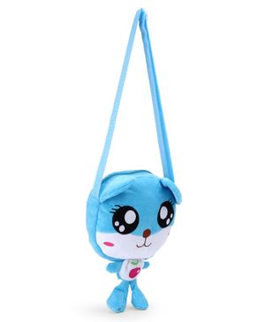 Cartoon Shape Sling Bag - Light Blue