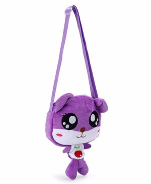Cartoon Shape Sling Bag - Purple Red