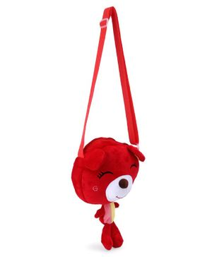 Cartoon Shape Sling Bag - Red