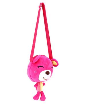 Cartoon Shape Sling Bag - Pink