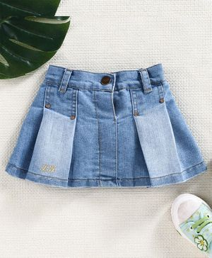 Little Kangaroos Denim Skirts - Light Blue