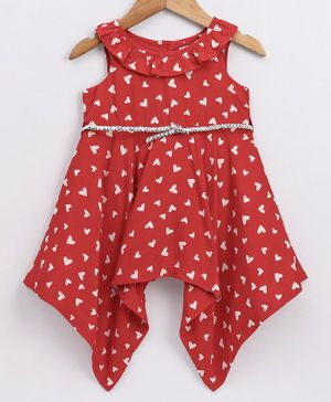 Nice Red Toddler Dress Perfect For Christmas Or Wedding 18 And 24 Mos Only