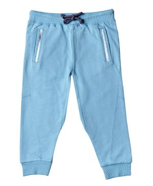 Kid Studio Front Pocket Full Length Pants - Blue