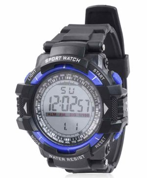 Skylofts Digital Watch With 7 Lights - Blue Black