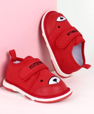Cute Walk by Babyhug Casual Shoes - Red