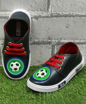 D'chica Bro Love For Football Led Shoes - Navy Blue