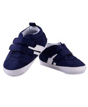 Little Hip Boutique Solid Sneakers Style Booties - Blue