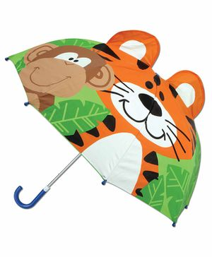 Stephen Joseph Pop Up Umbrella Zoo 3D Design - Multicolor
