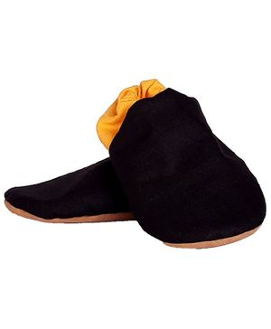 Skips Dual Color Booties - Black & Yellow