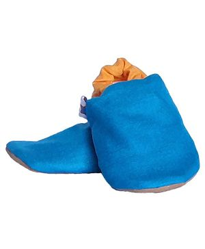 Skips Dual Color Booties - Blue & Yellow