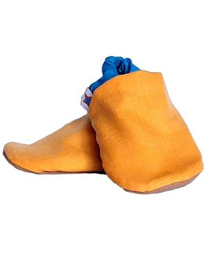 Skips Dual Color Booties - Yellow & Blue
