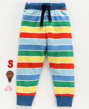 Ollypop Striped Lounge Pant - Blue Red