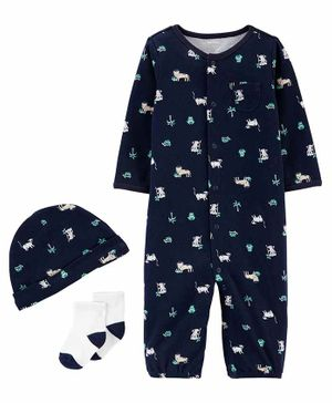 Carter's 3-Piece Take-Me-Home Set - Navy Blue