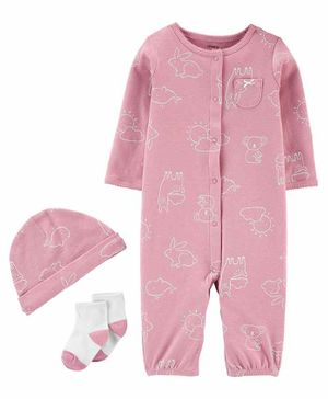 Carter's F20 INF GIRLS COORDINATE SET Pink 6M