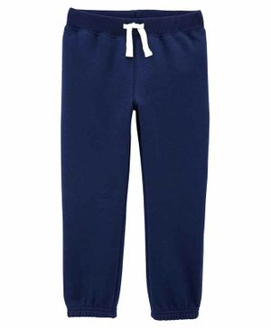 Carter's Pull-On Fleece Pants - Navy