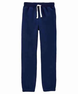 Carter's Pull On Fleece Pants - Blue