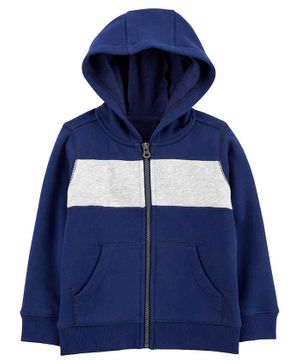 Carter's Zip-Up Fleece Hoodie - Blue