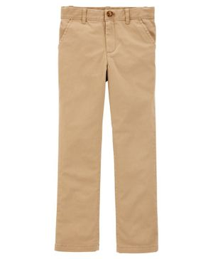Carter's 5-Pocket Straight-Fit Carpenter Pants - Brown