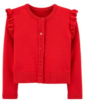 Carter's Cable Knit Dress - Red