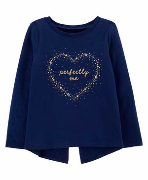 Carter's Perfectly Me Jersey Tee - Navy