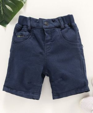 Little Kangaroos Denim Shorts - Navy