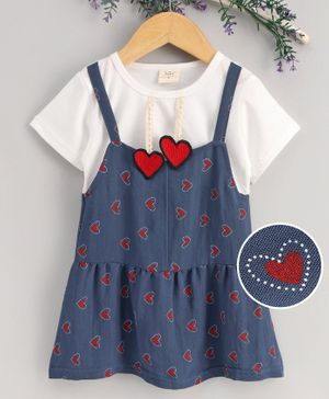 New Carter/'s Girls Navy and White Drop Waist Polo Dress NWT  6 8 year Kids