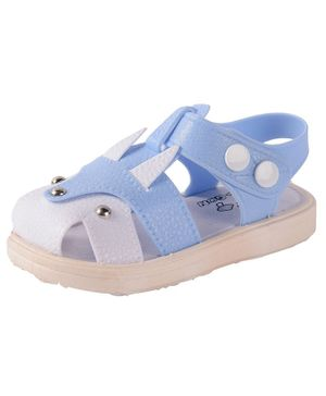 Yellow Bee Dual Shaded Sandals - Blue