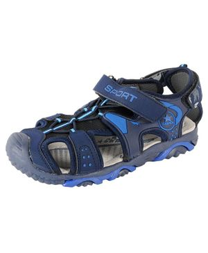 Yellow Bee Sports Sandals - Blue