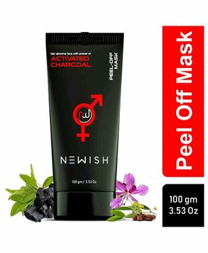 Newish Charcoal Peel Off Mask - 100 g
