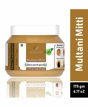 Newish Fullers Earth Multani Mitti Powder - 175 g