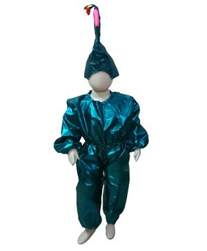 BookMyCostume Peacock Bird Fancy Dress Costume - Blue
