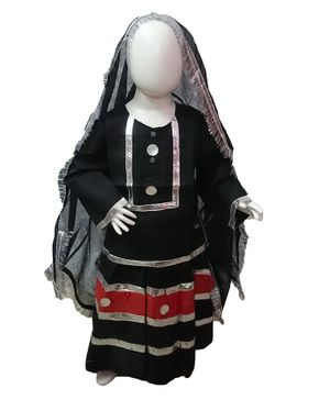 BookMyCostume Banjara Nomads North Western India Costume - Multicolor