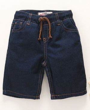 LC Waikiki Solid Shorts - Dark Blue