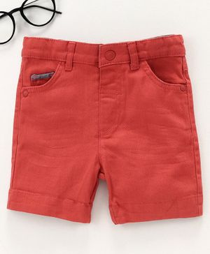 LC Waikiki Solid Shorts - Red