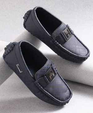 KIDLINGSS Checked Loafers - Blue